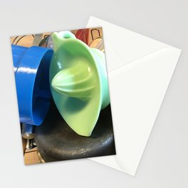 Drying dishes after a glorious meal Stationery Cards
