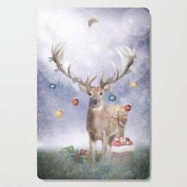 Christmas Deer Cutting Board