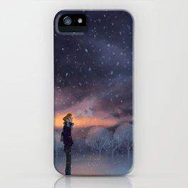 Ten Thousand Snowflakes iPhone Case