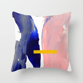 Untitled (Abstract Composition 2017008) Throw Pillow