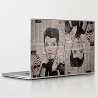 florence Laptop & iPad Skins featuring FLORENCE  by Aidan Reece Cawrey