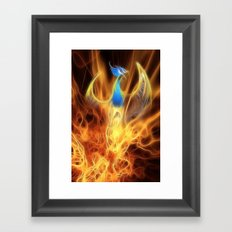 From the ashes... Framed Art Print