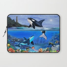 THE ORCA FAMILY Laptop Sleeve