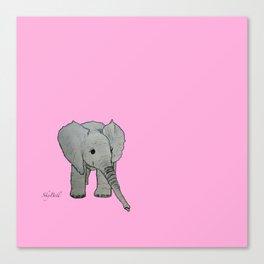 250af997fbfaf8 Baby Elephant Canvas Prints | Society6
