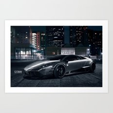 Liberty Walk LB Performance Lamborghini Murcielago Art Print