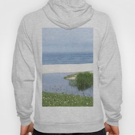 arrival of the brook into the sea Hoody