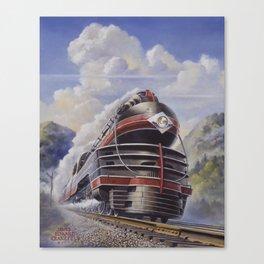 Lehigh Valley Railroad - The John Wilkes Canvas Print