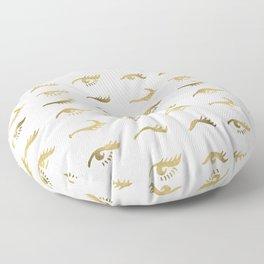 Mascara Envy – Gold Palette Floor Pillow