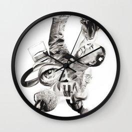 "P.O.A.M (Portrait of a Memory) ""C"" Wall Clock"