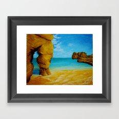 Beach 1 Framed Art Print