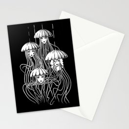 Jellyfishes Stationery Cards