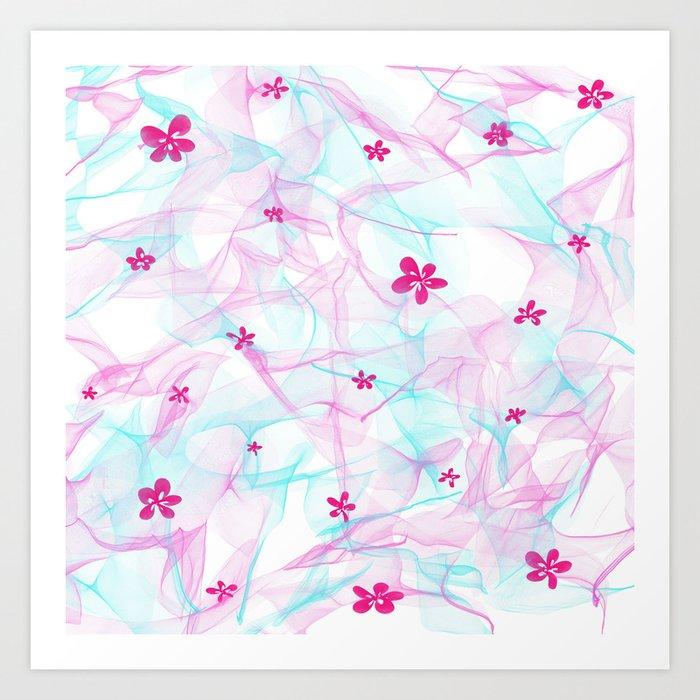 Summer soft Art Print