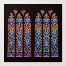 Mary's Mountain Windows Canvas Print
