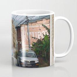 NEPALI HAY RIDE ON THE ROAD TO NAGARKOT Coffee Mug