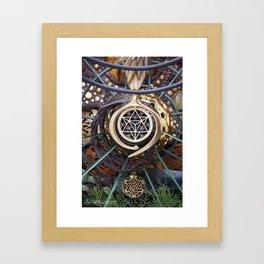 World Bridger Framed Art Print