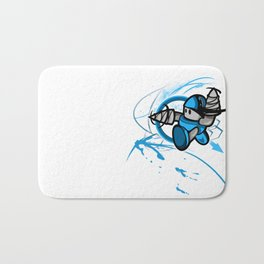 Drill Time! Bath Mat