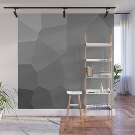 black background Wall Mural