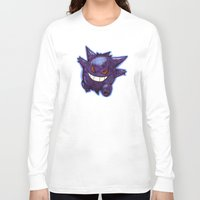 gengar Long Sleeve T-shirts featuring Gengar by Trataka