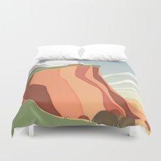 fairy landscape Duvet Cover