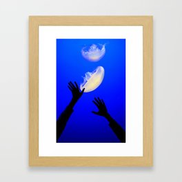 Reach the Light Framed Art Print