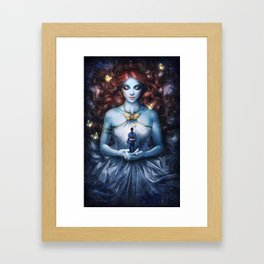 Strange the Dreamer Framed Art Print