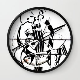 Violoncelo Wall Clock