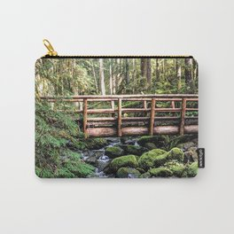 Wanderlust Beauty // Take Me to the Forest Where the Peaceful Waters Flow in the Dense Woods Carry-All Pouch
