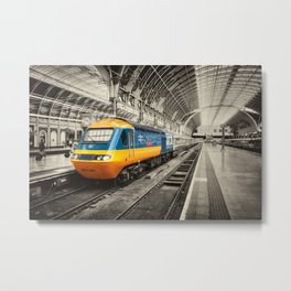 HST Paddington Metal Print