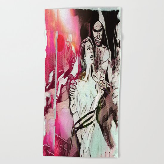 For Years To Come (Part 1 of 3) Beach Towel