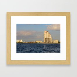 Shoreline in Fort Myers II Framed Art Print