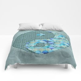Yin Yang Ocean Spirit Comforters