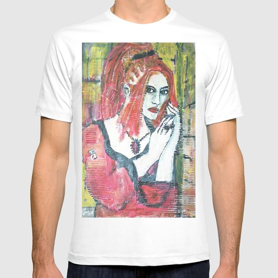 RED HOT GOTH CHICK T-shirt