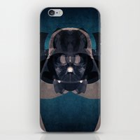 darth vader iPhone & iPod Skins featuring Darth Vader by lazylaves