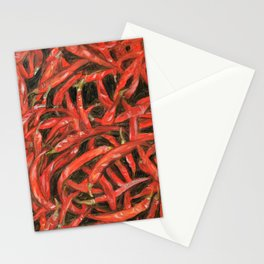 RED HOT CHILLIES Stationery Cards
