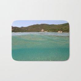 Sardinia underwater - emerald Bath Mat