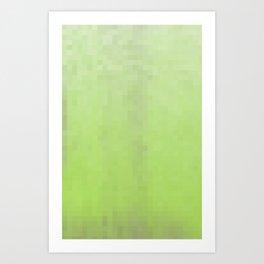 The Lime Pixels Art Print