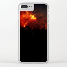 Sin Clear iPhone Case