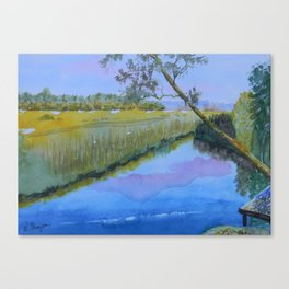 The Nassau River Canvas Print