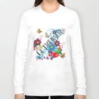 navajo Long Sleeve T-shirts featuring Navajo Mandala by Karma Cases