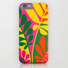 Bright Botanic / Tropical Pop Series iPhone Case