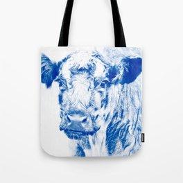 Ardnamuchan Coo - Blue Tote Bag