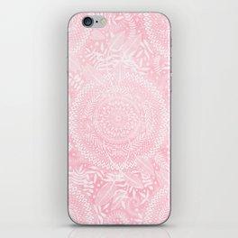Medallion Pattern in Blush Pink iPhone Skin