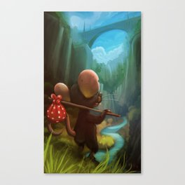 traveler mouse Canvas Print