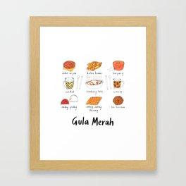 Gula Merah // 02 Framed Art Print