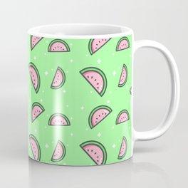 Cute Pastel Watermelon Pattern Coffee Mug