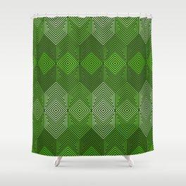 Op Art 93 Shower Curtain