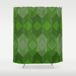 Op Art 93 Shower Curtain
