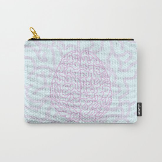 Pastel Brain Carry-All Pouch