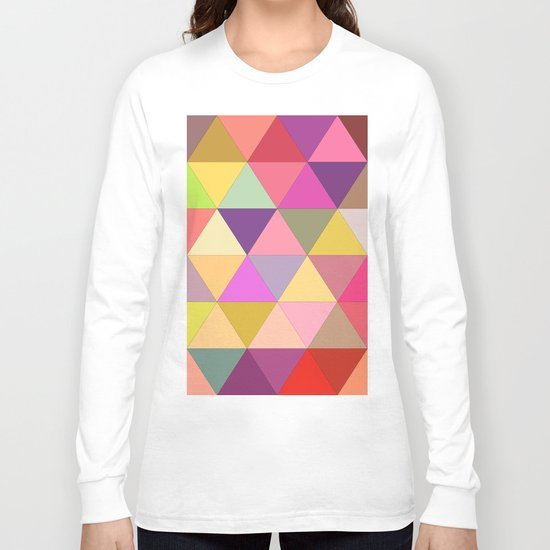 Happy geometry Long Sleeve T-shirt