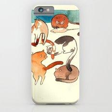 kitty card iPhone 6s Slim Case